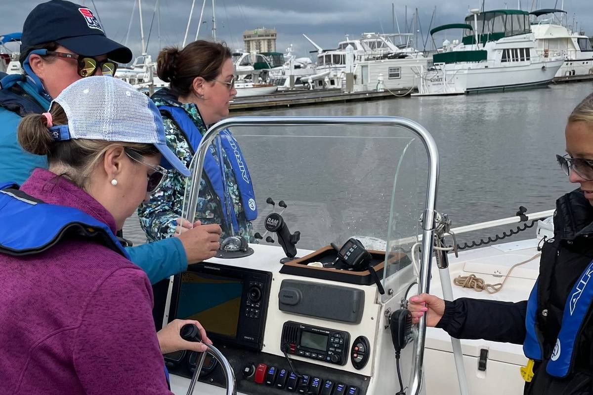 womens safety boating